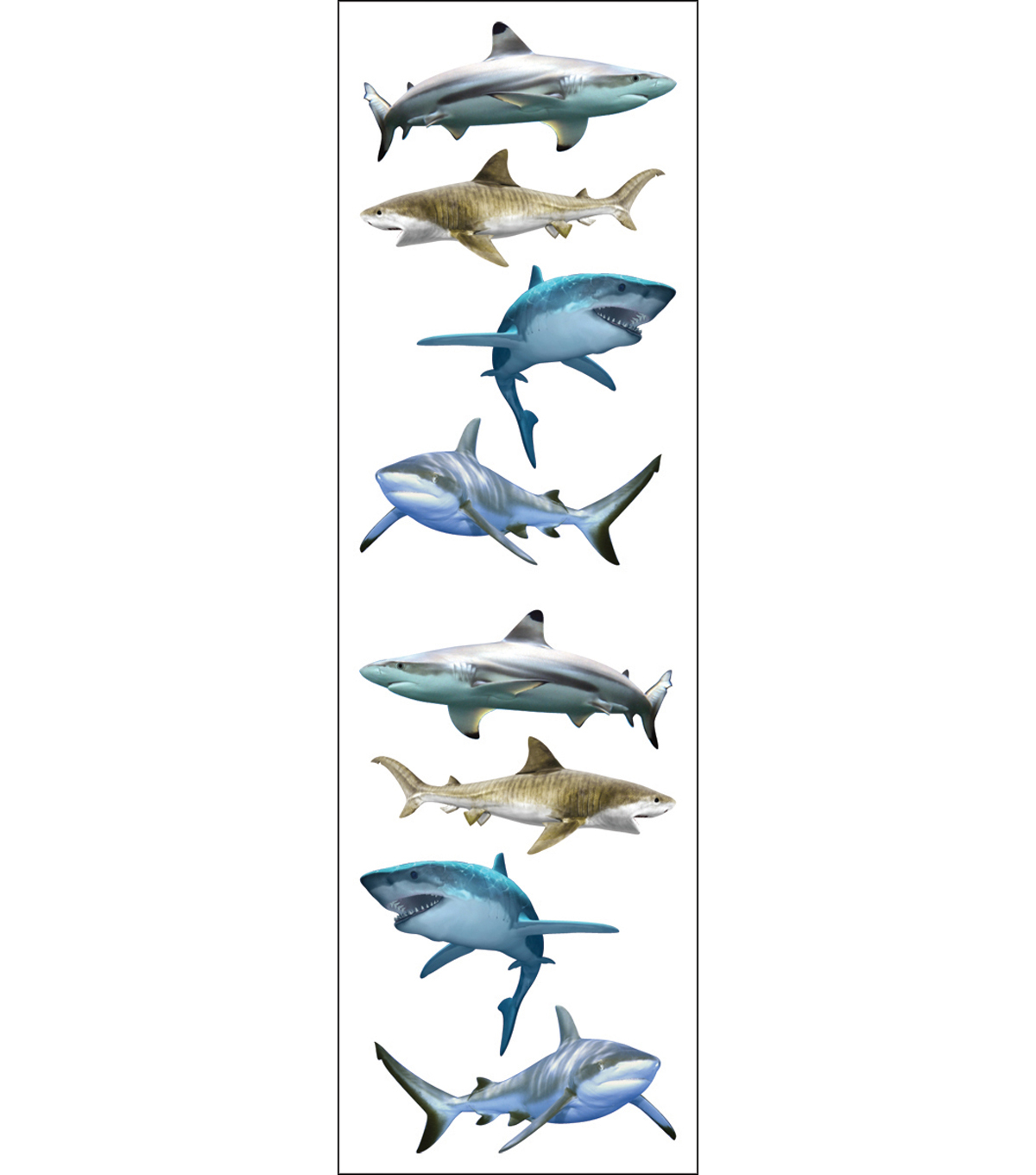 Mrs. Grossman\u0027s Stickers-Shark World