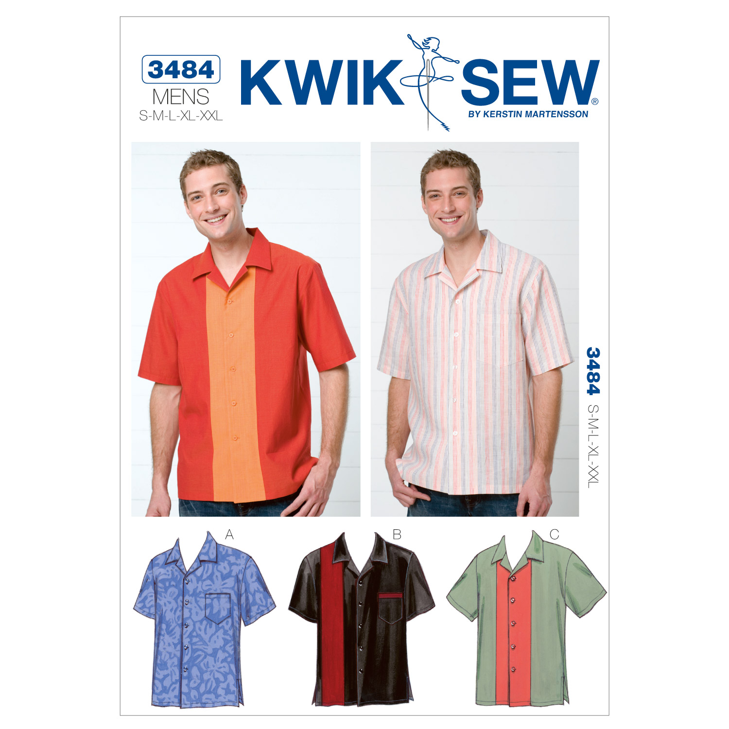 Kwik Sew Mens Top-K3484