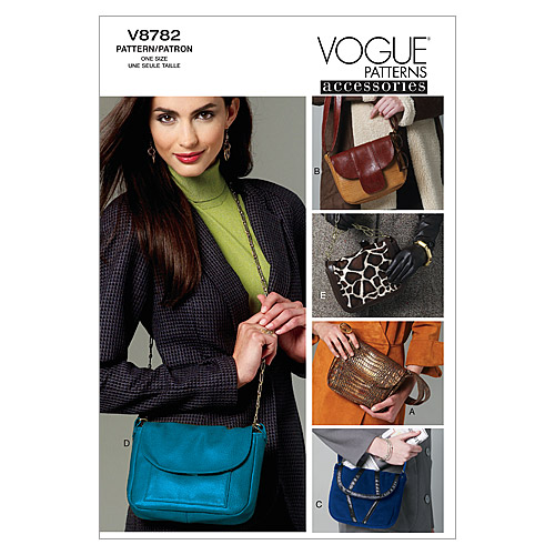 Mccall Pattern V8782 All Sizes -Vogue Pattern