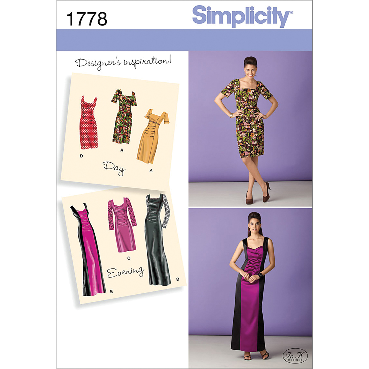 Simplicity Pattern 1778H5 6-8-10-12--Simplicity Pattern