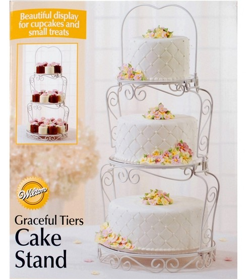 Wilton® Graceful Tiers Cake Stand