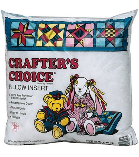 Crafter\u0027s Choice 100% Polyester Pillow Form-18\u0027\u0027x18\u0027\u0027