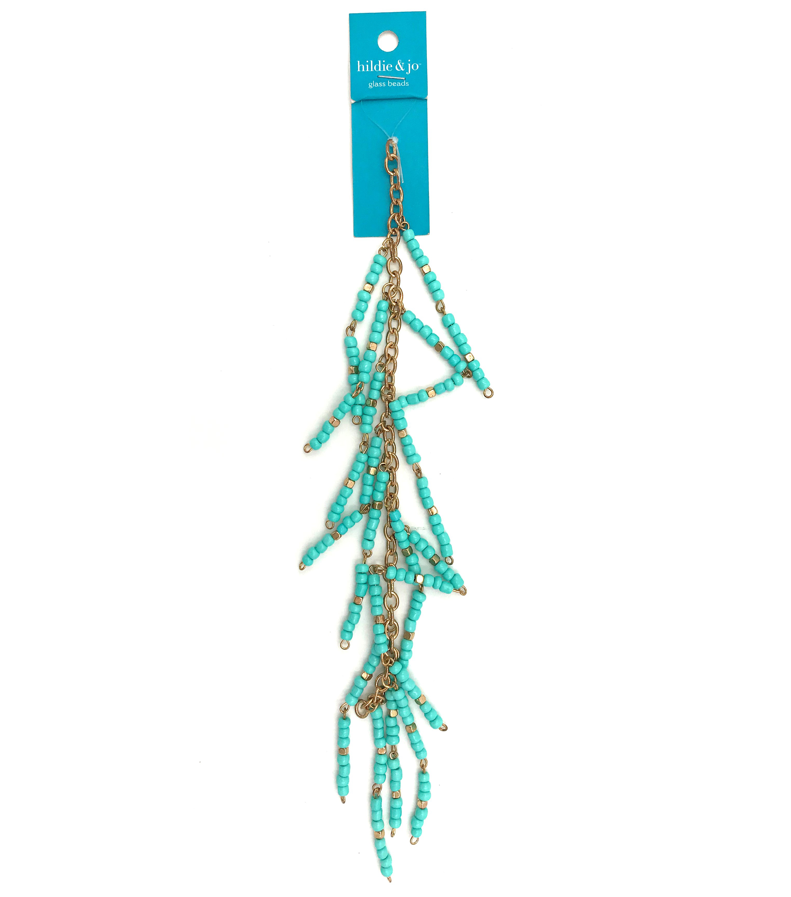Bliss Beads Turquoise Drop Chain