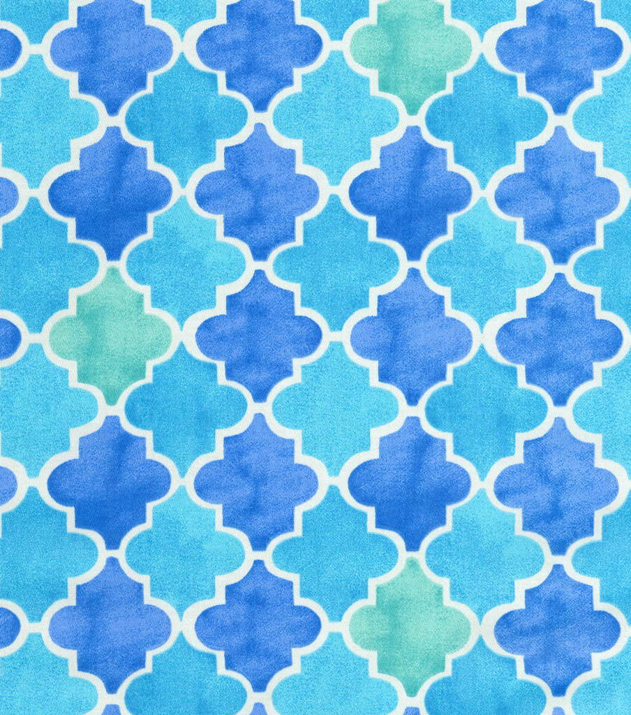 "Home Decor 8""x8"" Fabric Swatch-Laurette Design Beach Walk Bliss"