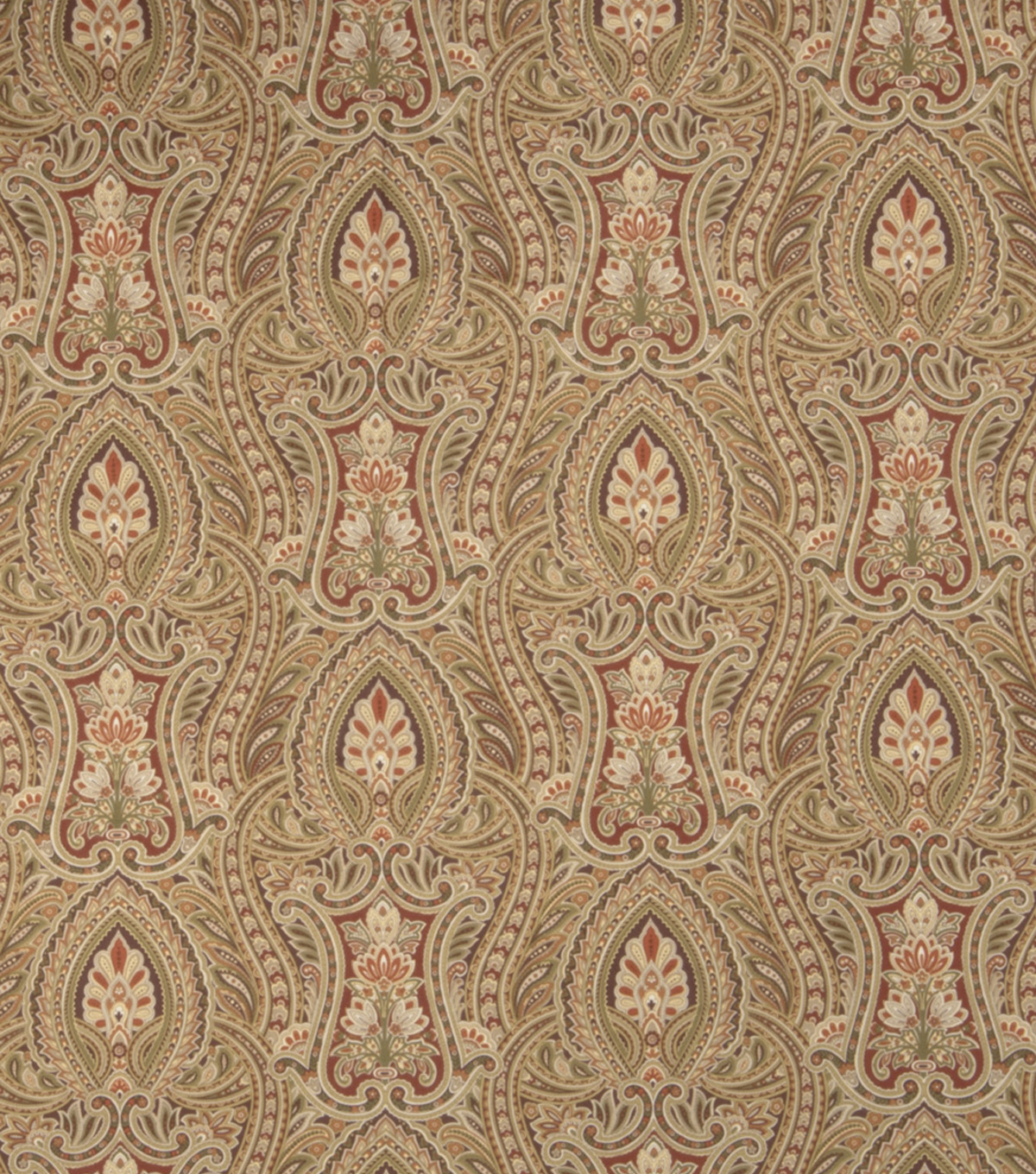Home Decor 8\u0022x8\u0022 Fabric Swatch-Upholstery Fabric SMC Designs Cache Ginger