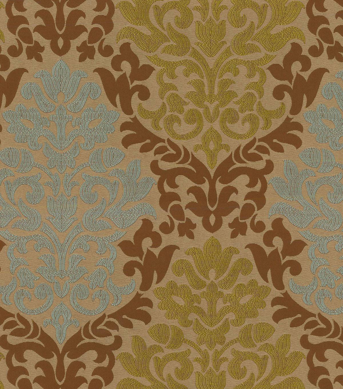 "Waverly Upholstery Fabric 56""-Romantic Rhyme/Chestnut"