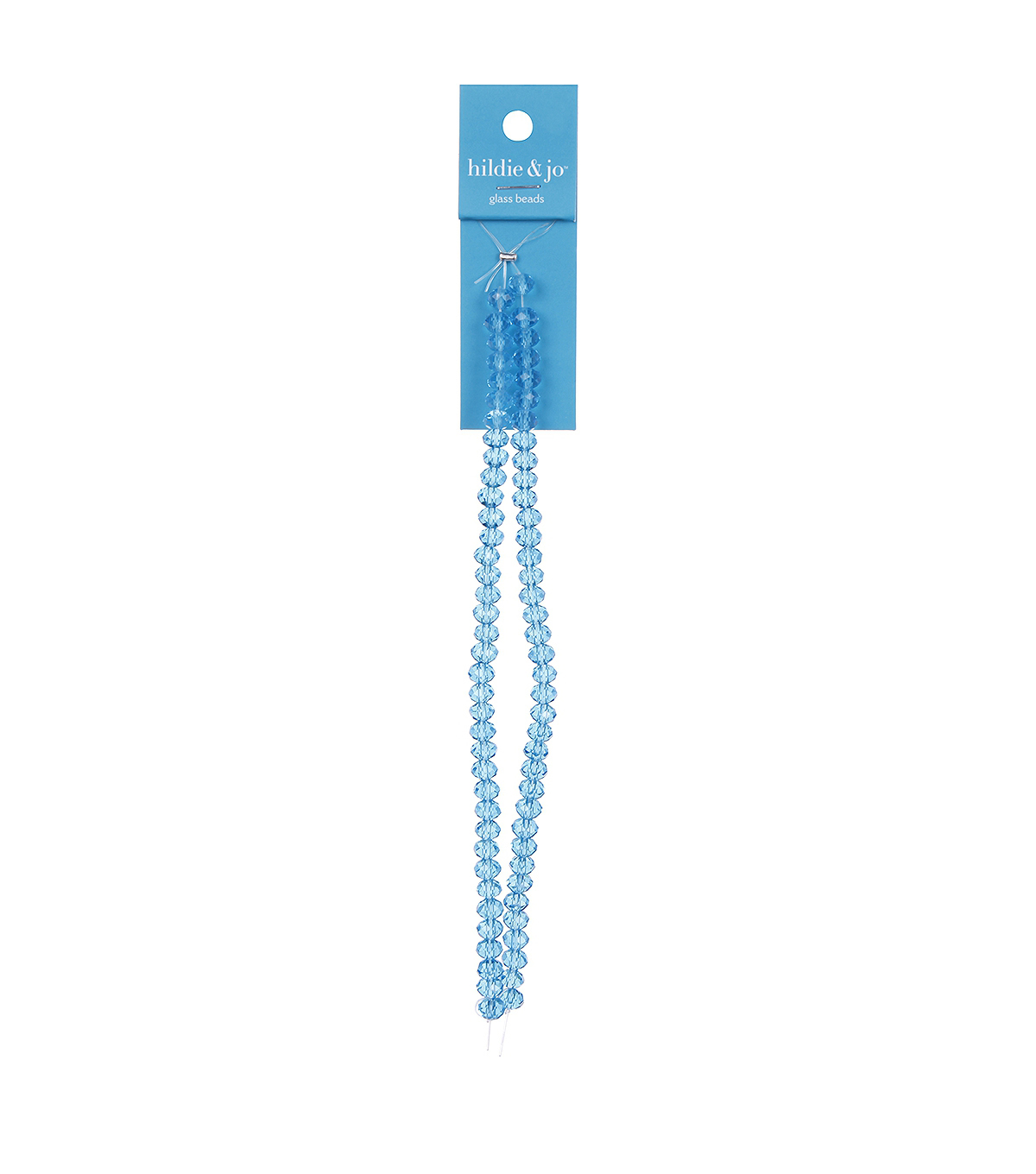 Mini Crystalline Strung Bead-Aqua