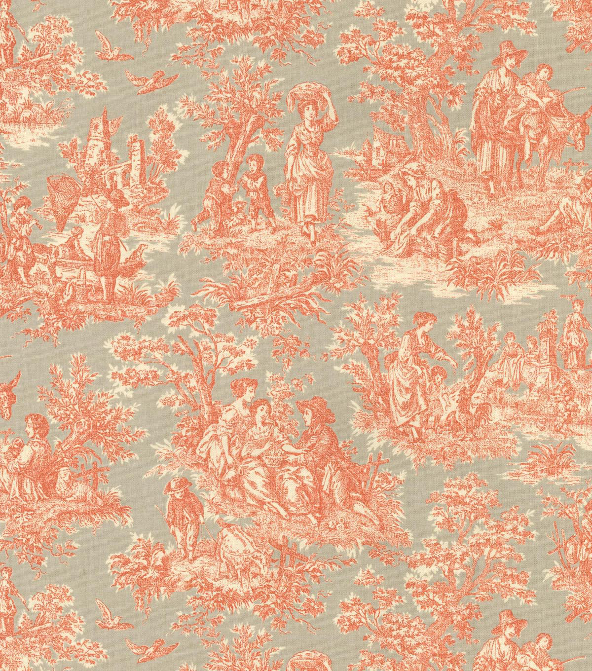 Waverly Upholstery Fabric-Charmed Life Clay
