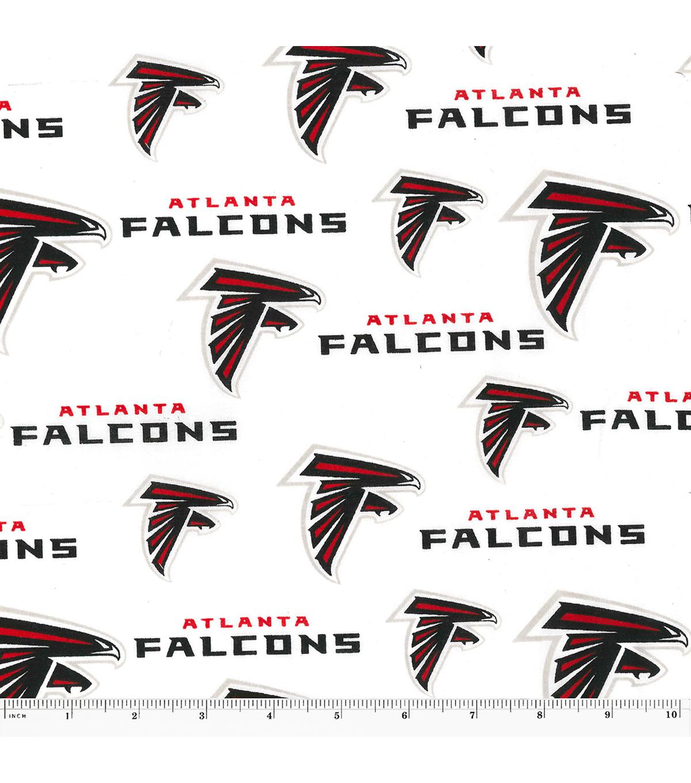 Atlanta falcons logo cotton fabric 58 joann atlanta falcons cotton fabric voltagebd Choice Image