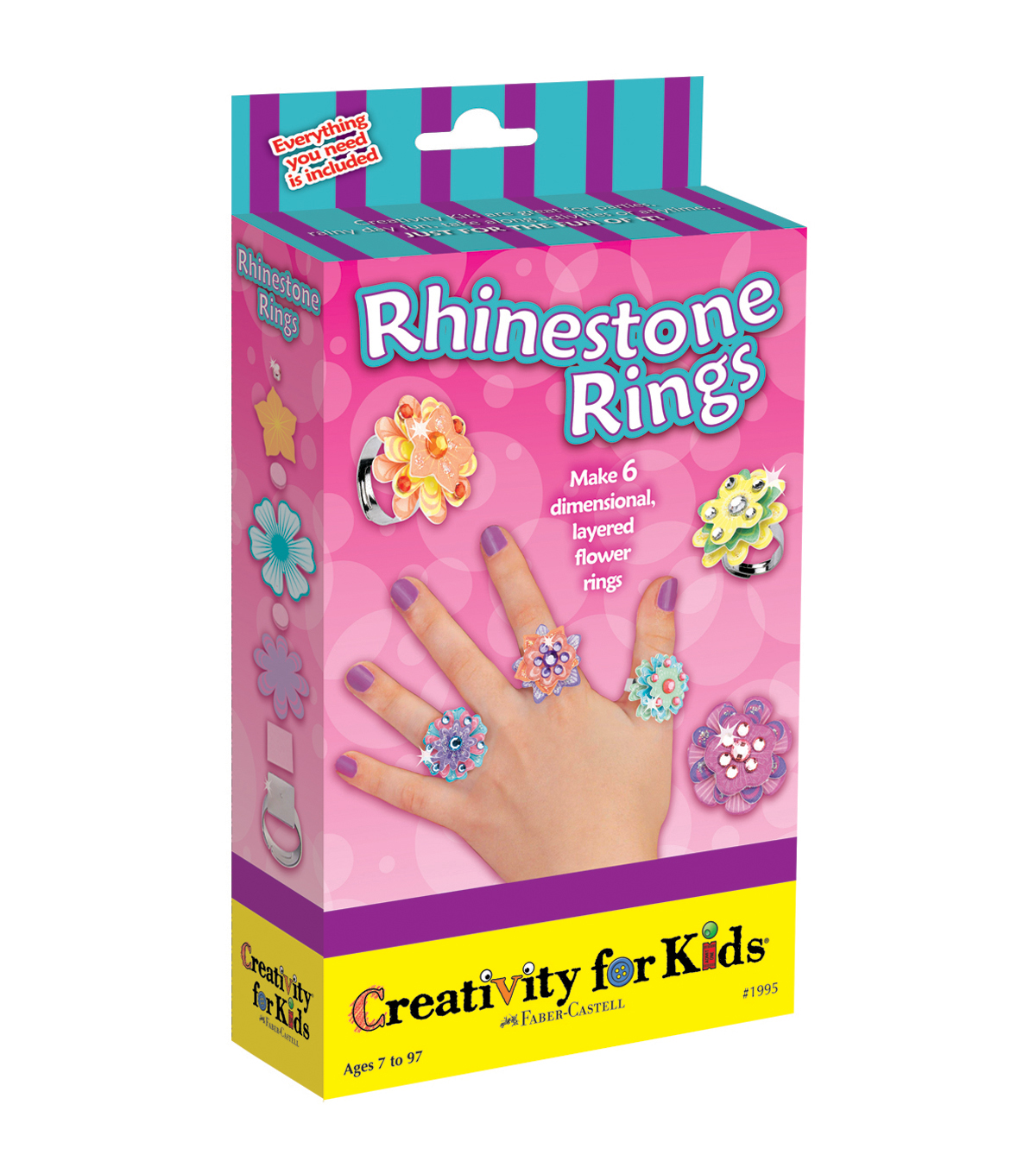 Creativity For KidsRhinestone Rings Kit