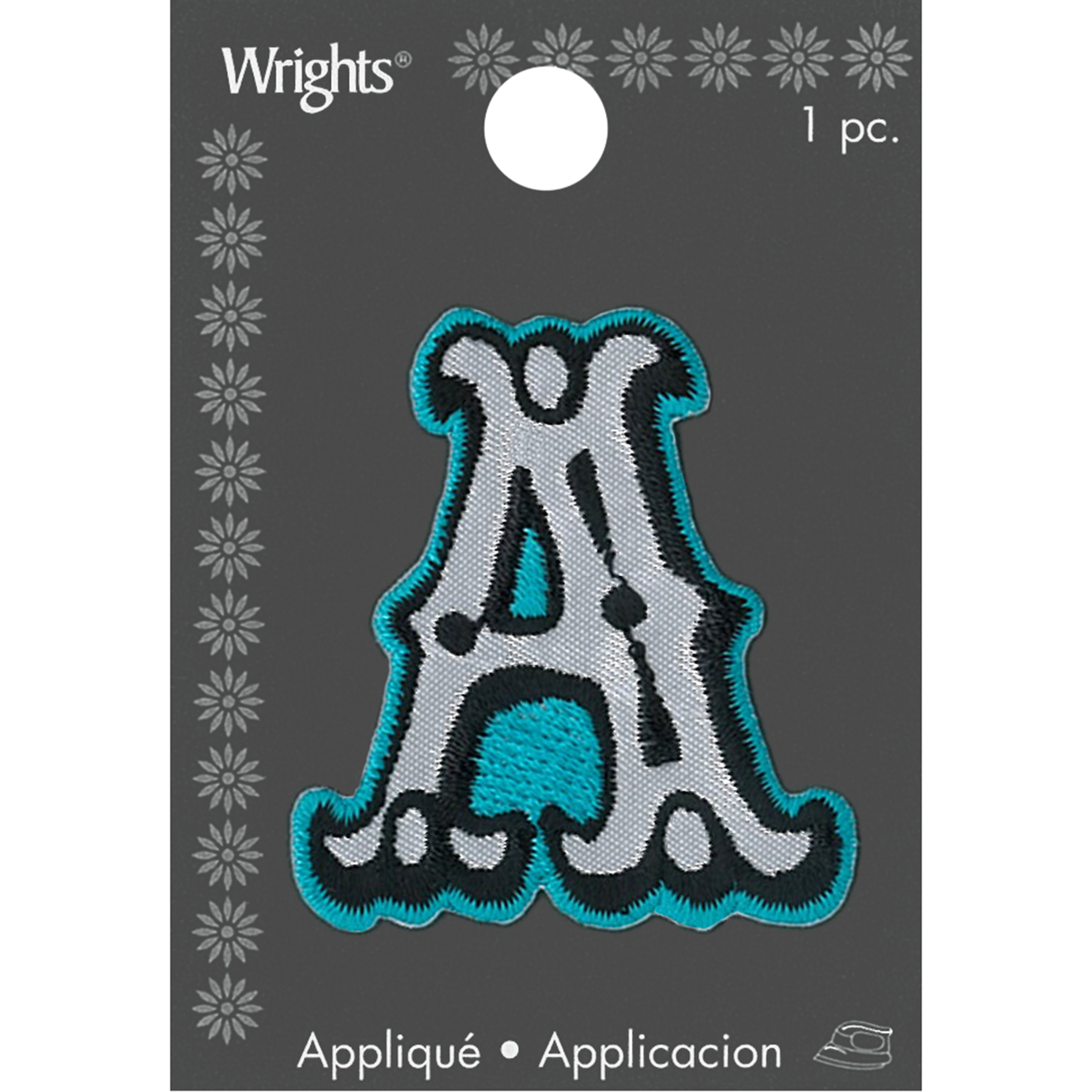 Wrights® Iron-On Applique-Rock n Roll Letter-2\u0022