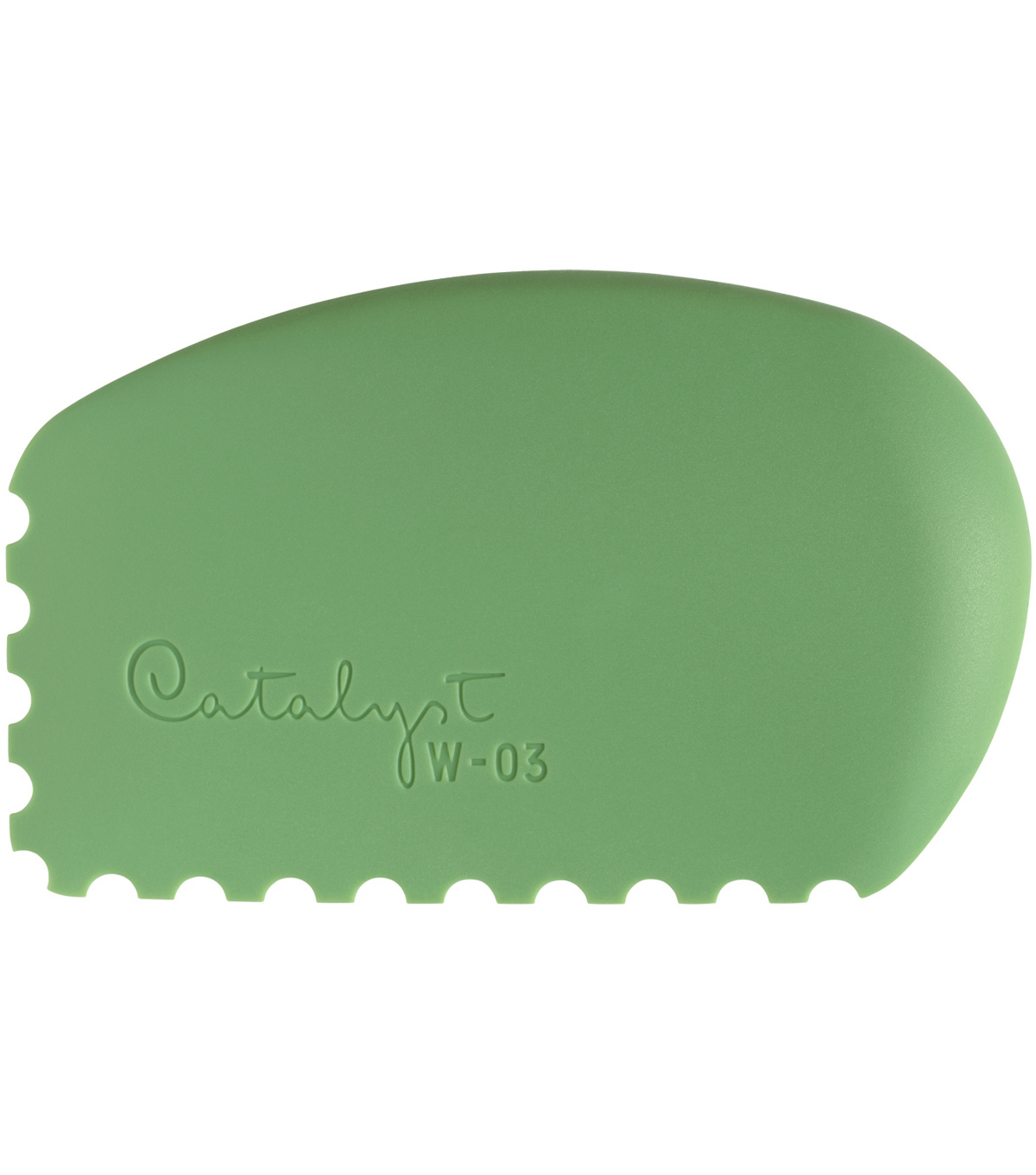 Catalyst Silicone Wedge Tool-Green W-03
