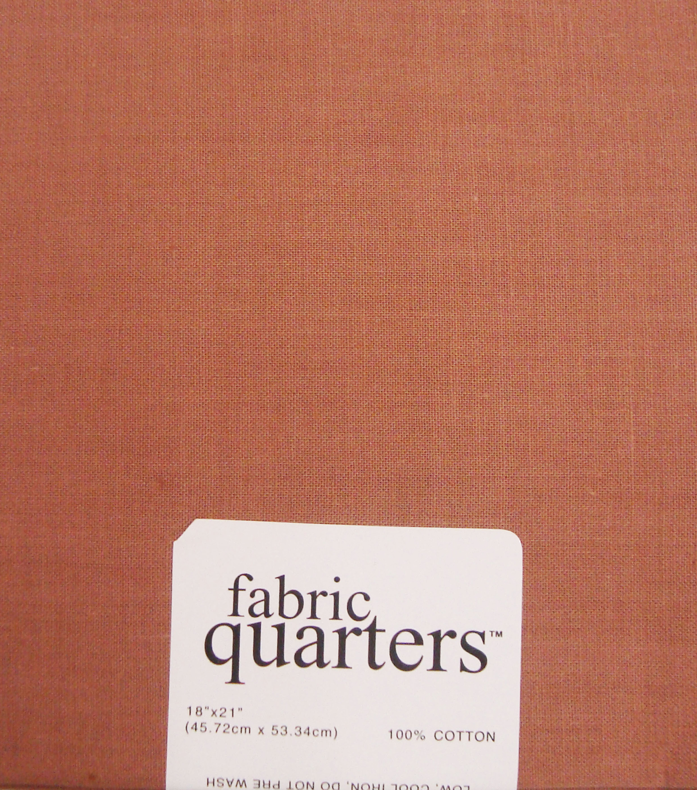 Fabric-Quarters Cotton Fabric-Solids Light Brown