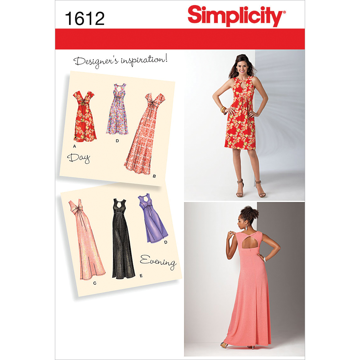 Simplicity Pattern 1612BB 20W-28W -Simplicity Misses Dr