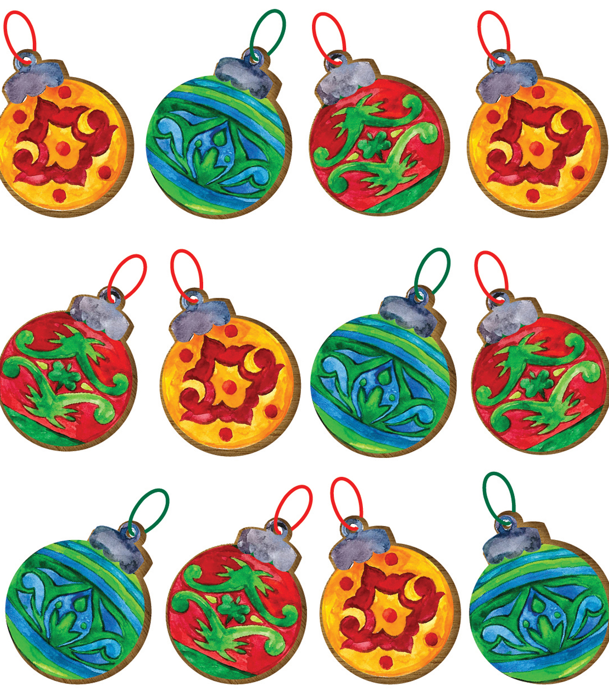 Christmas Ornaments Embellishment