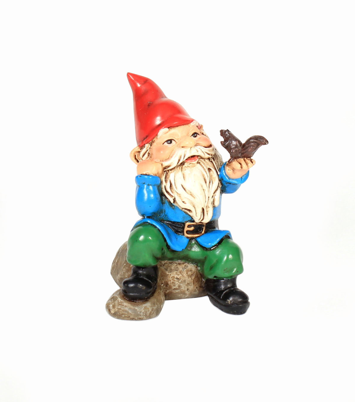 Bloom Room Littles Gnome with Squirrel