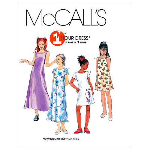 McCall\u0027s Girls Dress-M6098