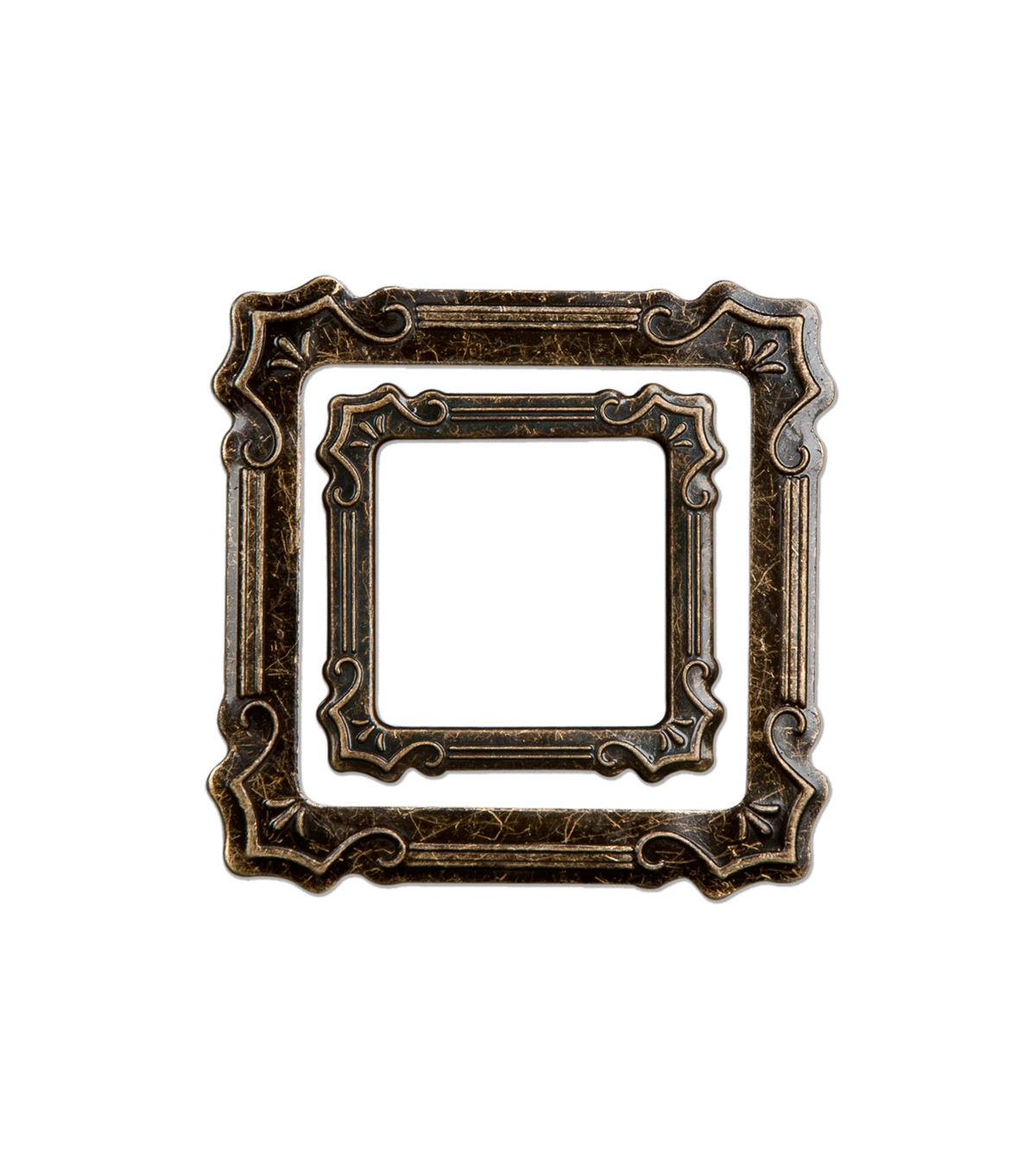 Small Metal Antique Frame Embellishments