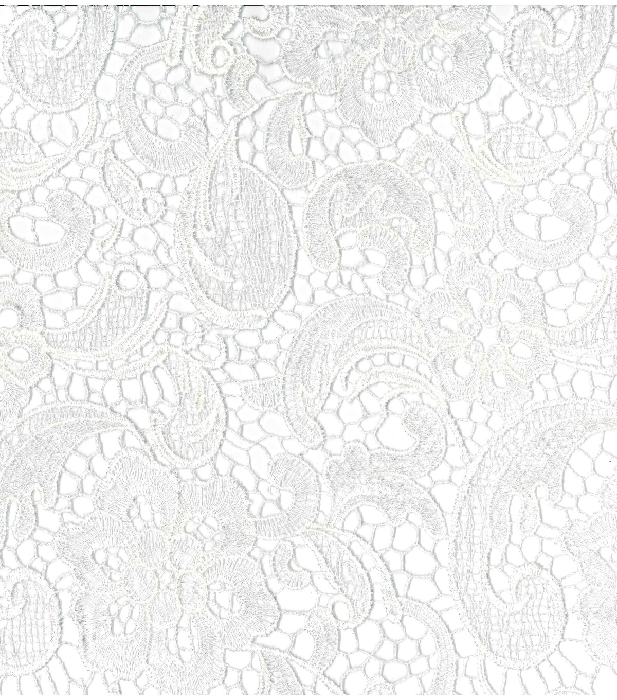 Save The Date Heavy Lace Fabric 44 U0022 Embroidered White
