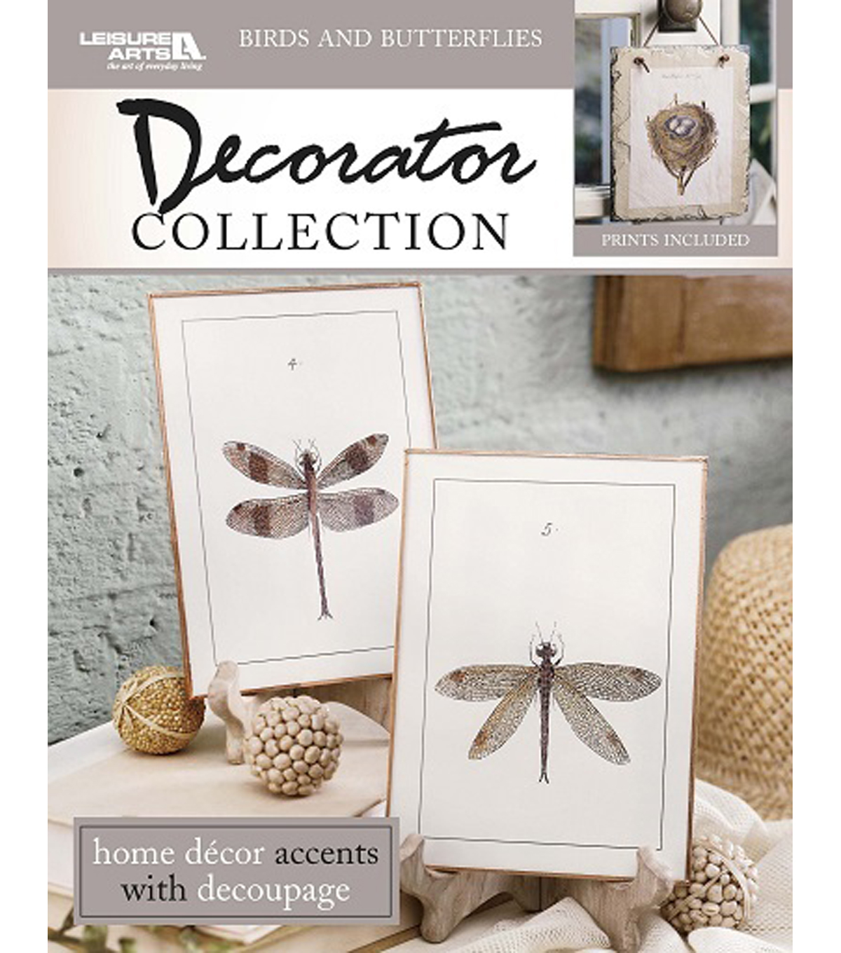 Birds & Butterflies Decorator Collection Book