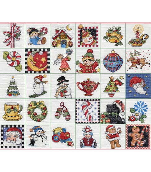 Bucilla Counted Cross Stitch Kit Mary Engelbreit Ornaments