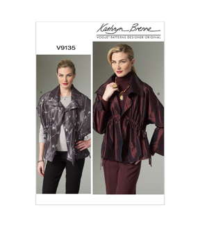 Vogue Patterns Misses Jacket-V9135