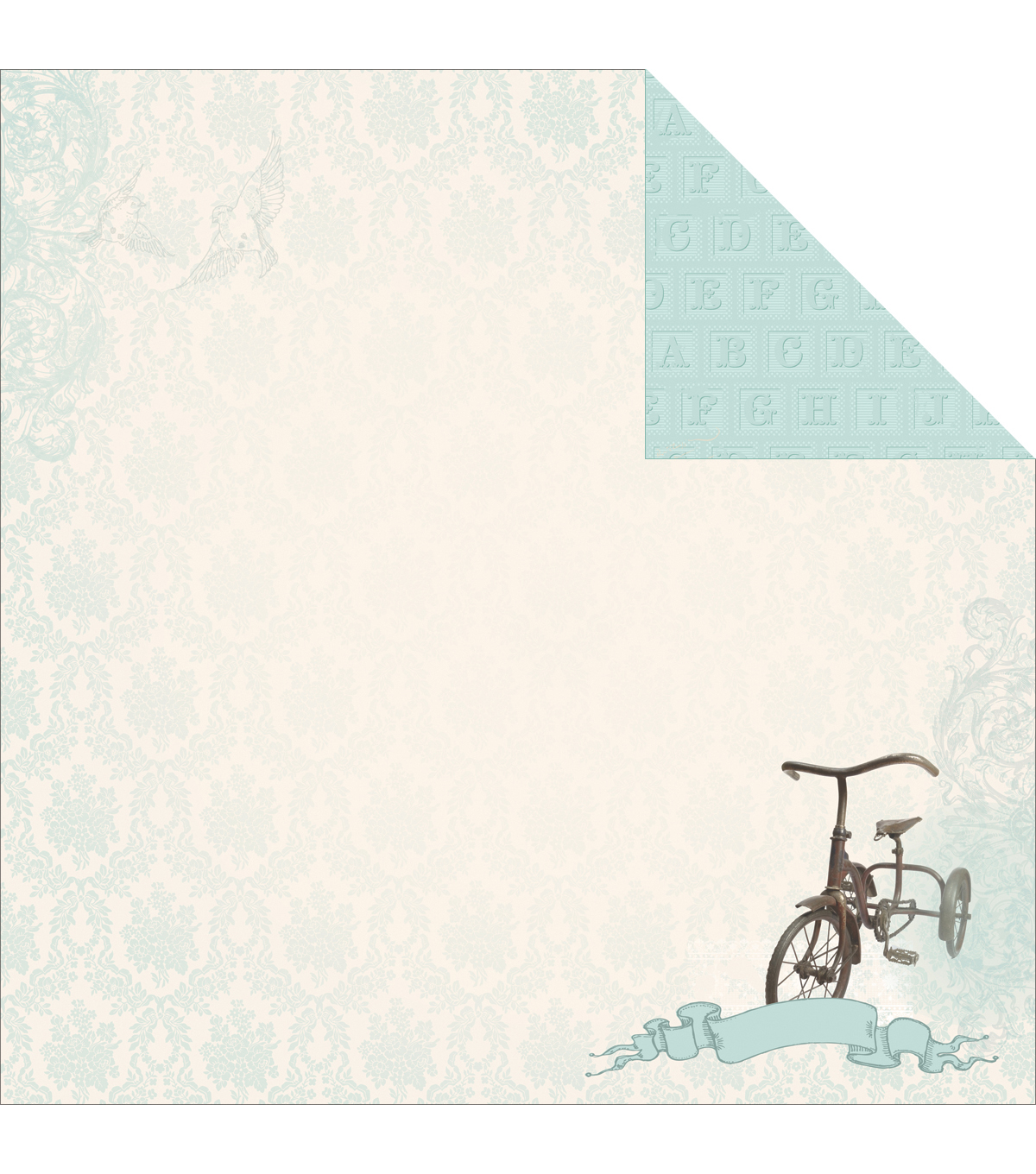 Kaisercraft Precious Gift - Pitter Patter Double Sided Cardstock