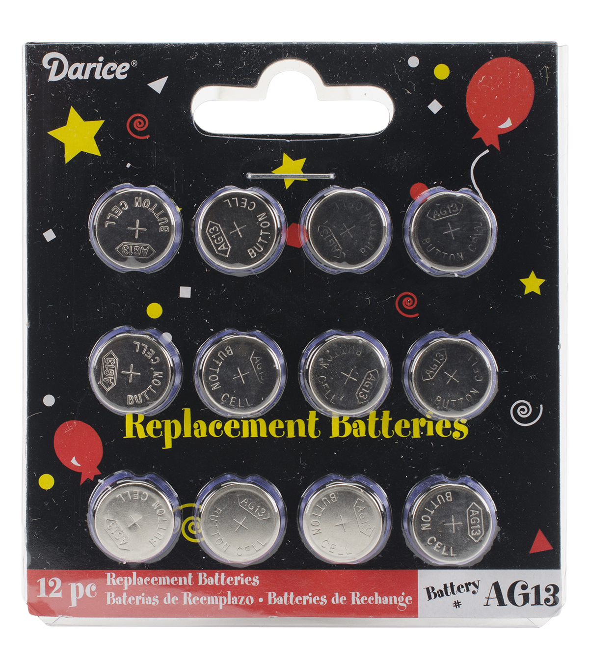 Darice® AG13 Replacement Batteries For Tea Lights