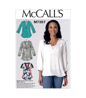 McCall's Misses Top-M7357