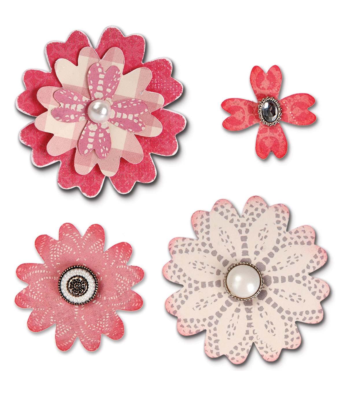 Sizzix™ Bigz™ Eileen Hull Die-Flower Layers with Heart Petals