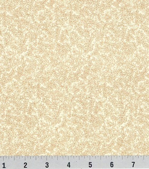 Keepsake Calico™ Cotton Fabric 44\u0022-Cream Vinery