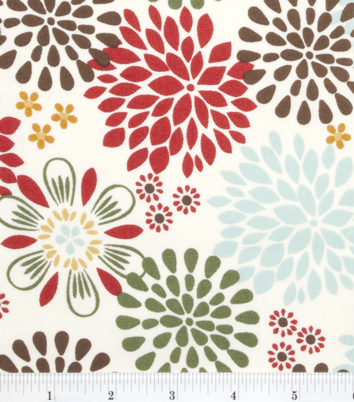 Keepsake Calico™ Cotton Fabric 43\u0022-Kennedy Floral Multi