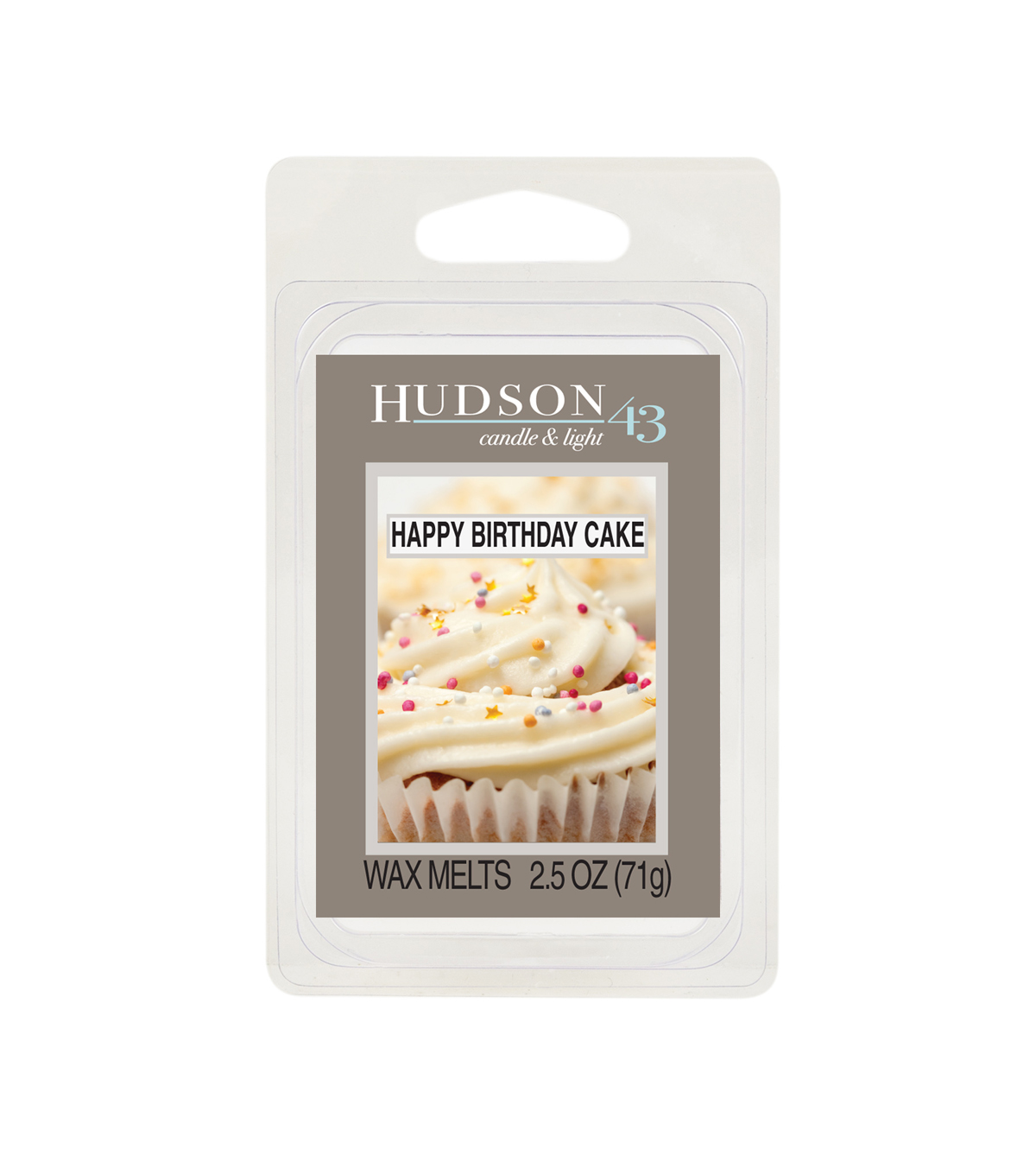 Hudson 43™ Candle & Light Collection Wax Melt-Happy Birthday Cake