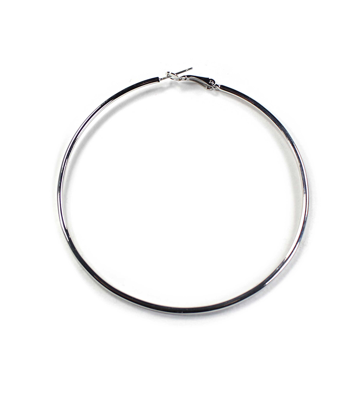 Blue Moon Findings Ear Hoop Metal Large Silver