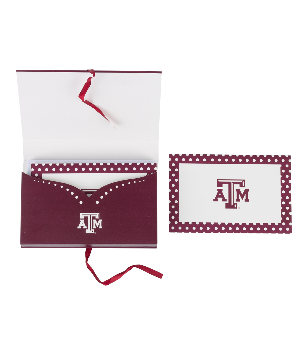 Texas A&M University Aggies Note Card Set