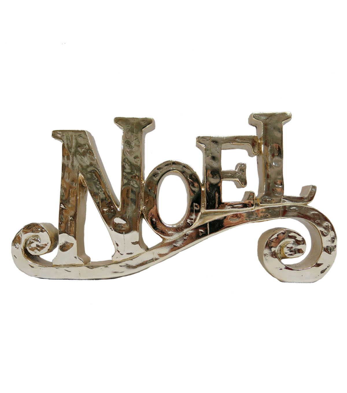 Maker's Holiday Table Decor-Gold Script Noel