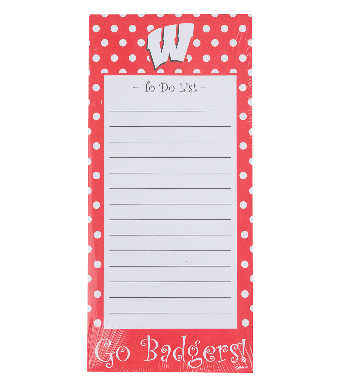 University of Wisconsin To-Do List