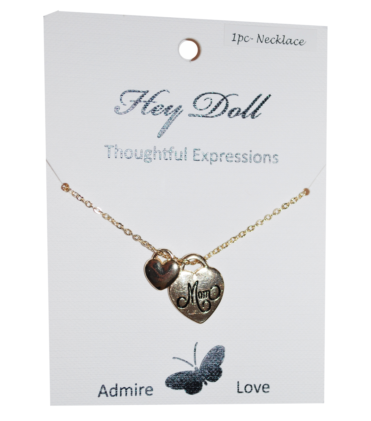 Hey Doll Gold Mom Necklace