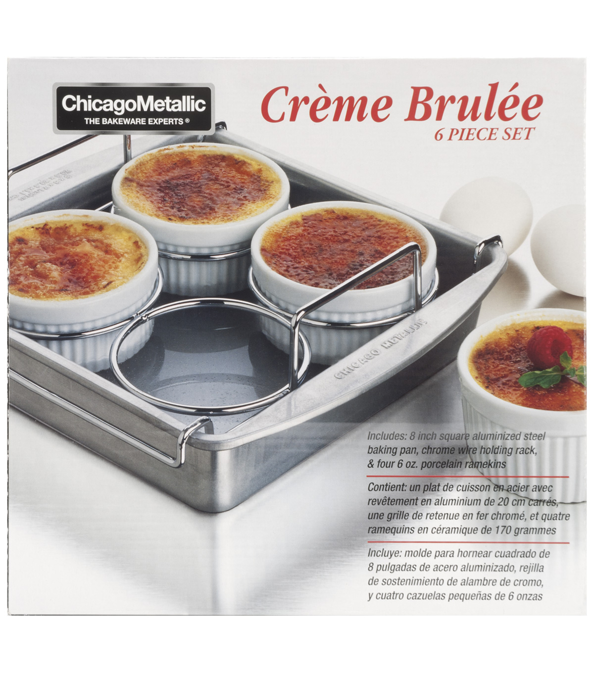 Chicago Metallic-Creme Brulee Set