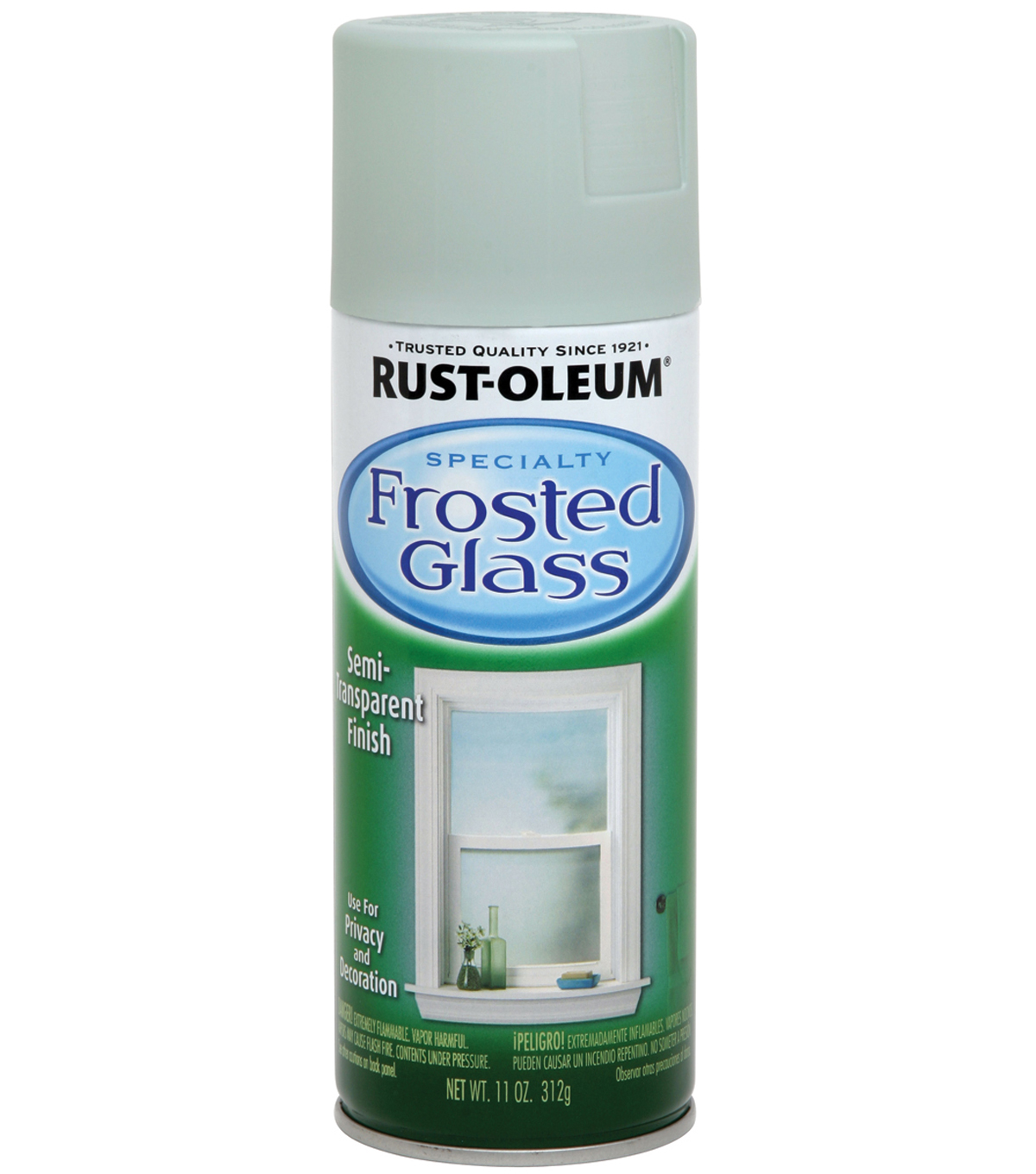 Rust-Oleum Frosted Glass Semi-Transparent Spray-11 Ounces