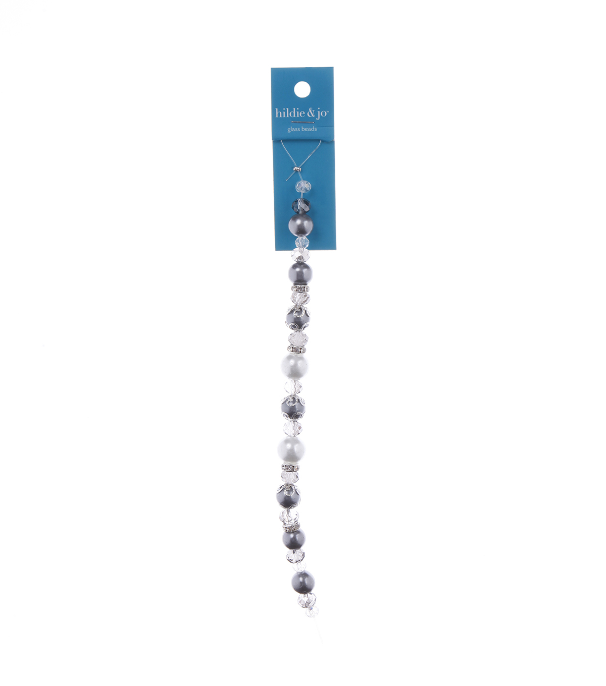 Advantus/Sulyn 7 in Socialite Parlor Bead Strand, Grey Snow