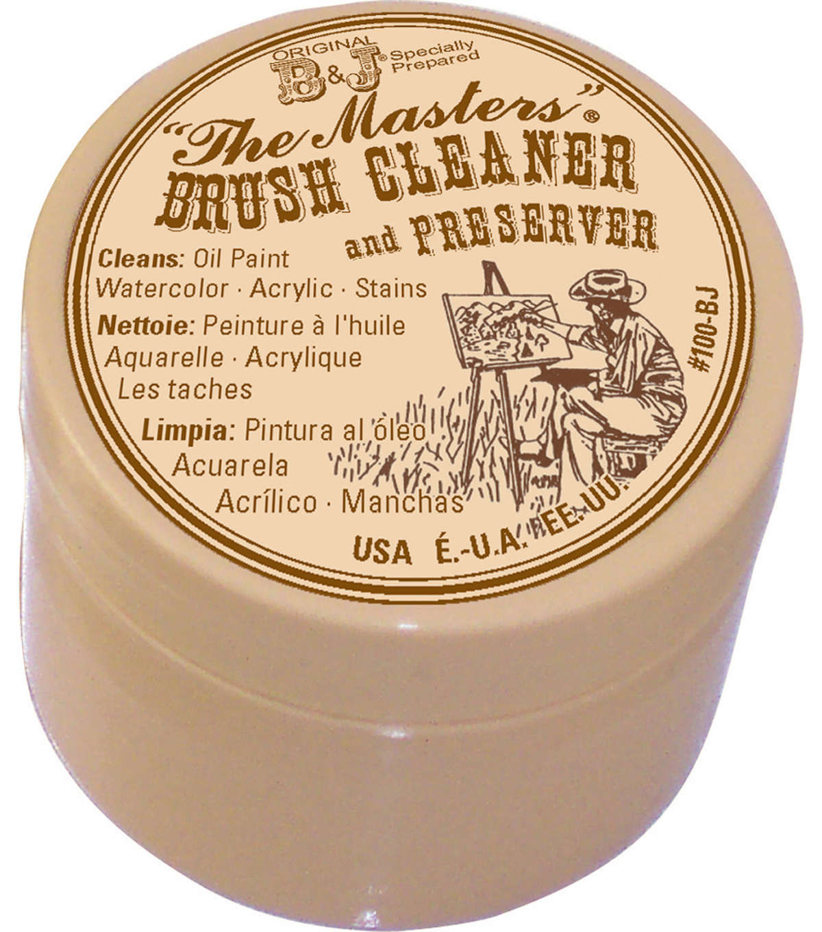 The Master's Brush Cleaner & Preserver-1oz