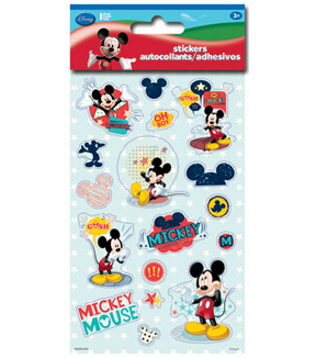 Mickey Sticker Metal