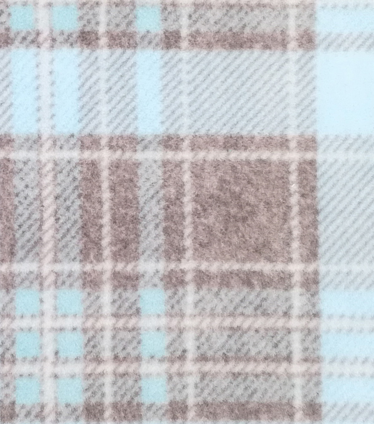 Speciality Fleece Fabric 59\u0022-Spa Heather Plaid
