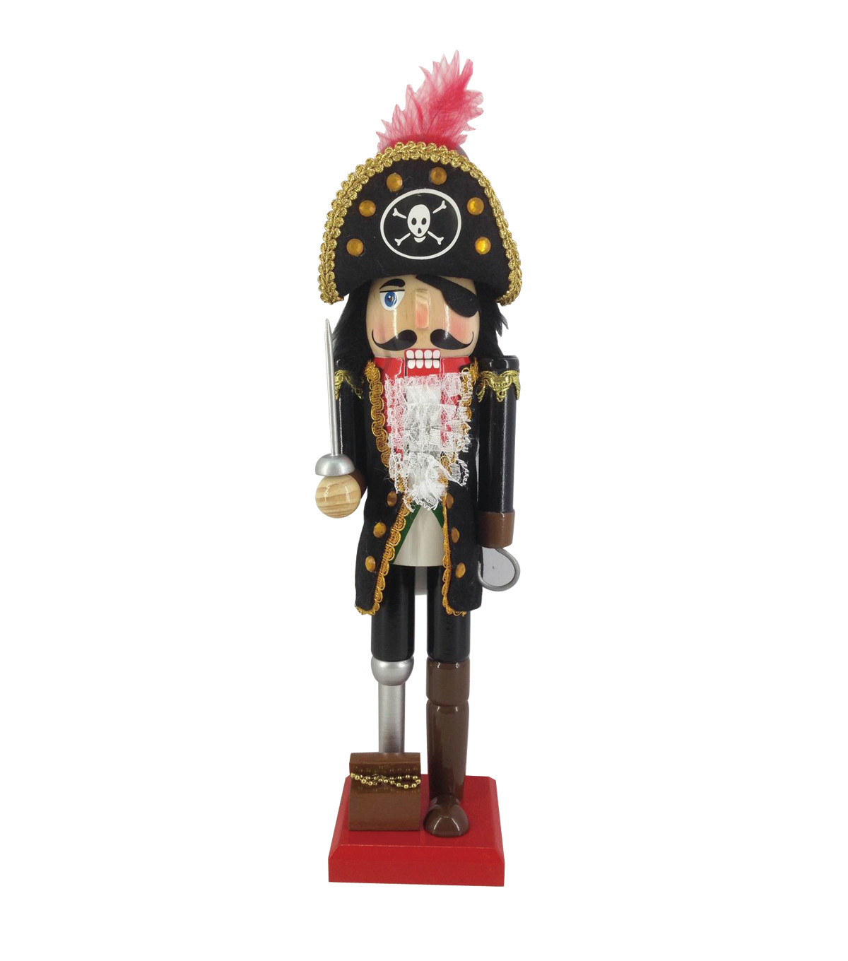 Maker\u0027s Holiday 15\u0027\u0027 Pirate Nutcracker
