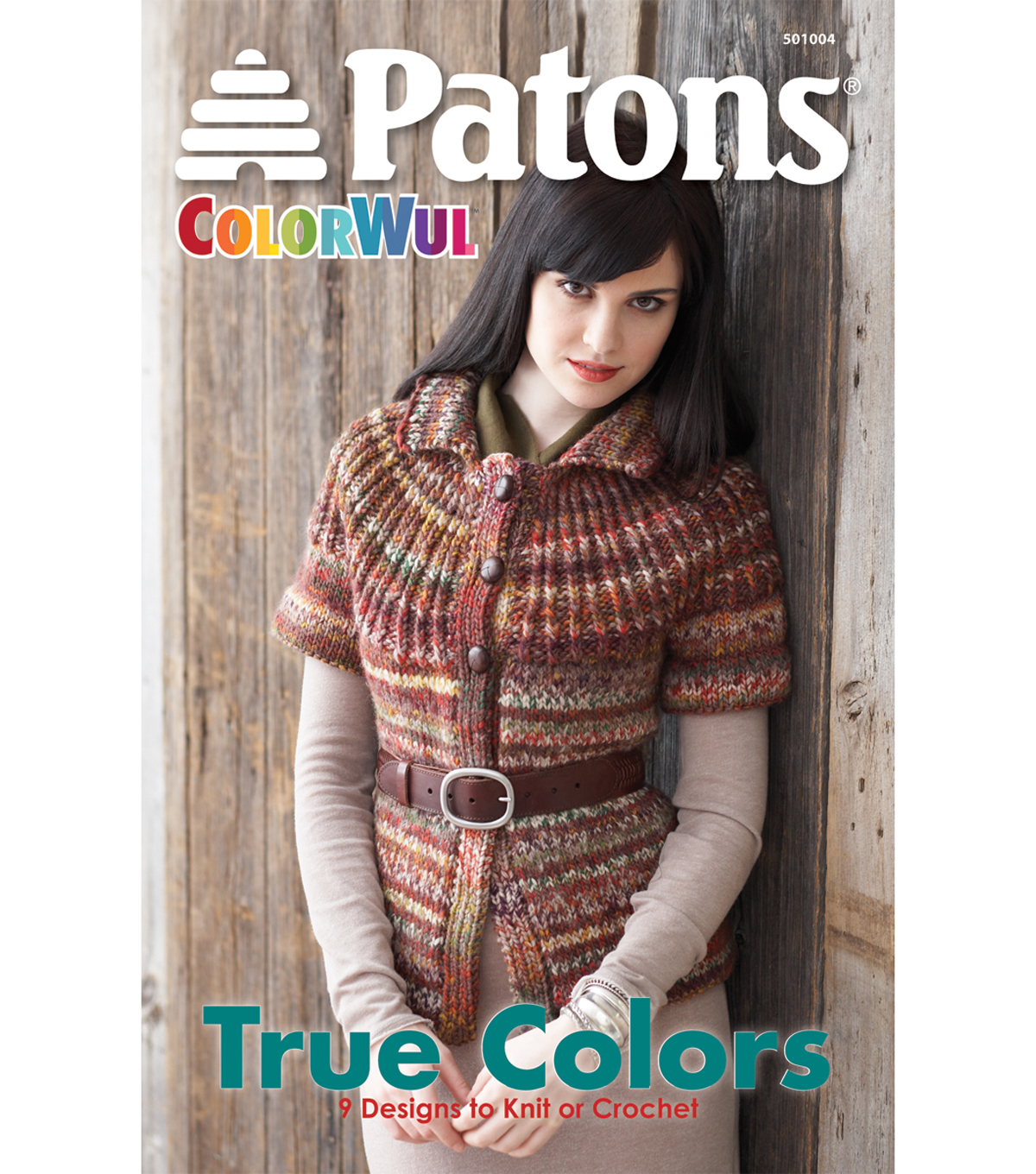 Patons True Colors-ColorWul Knitting Book