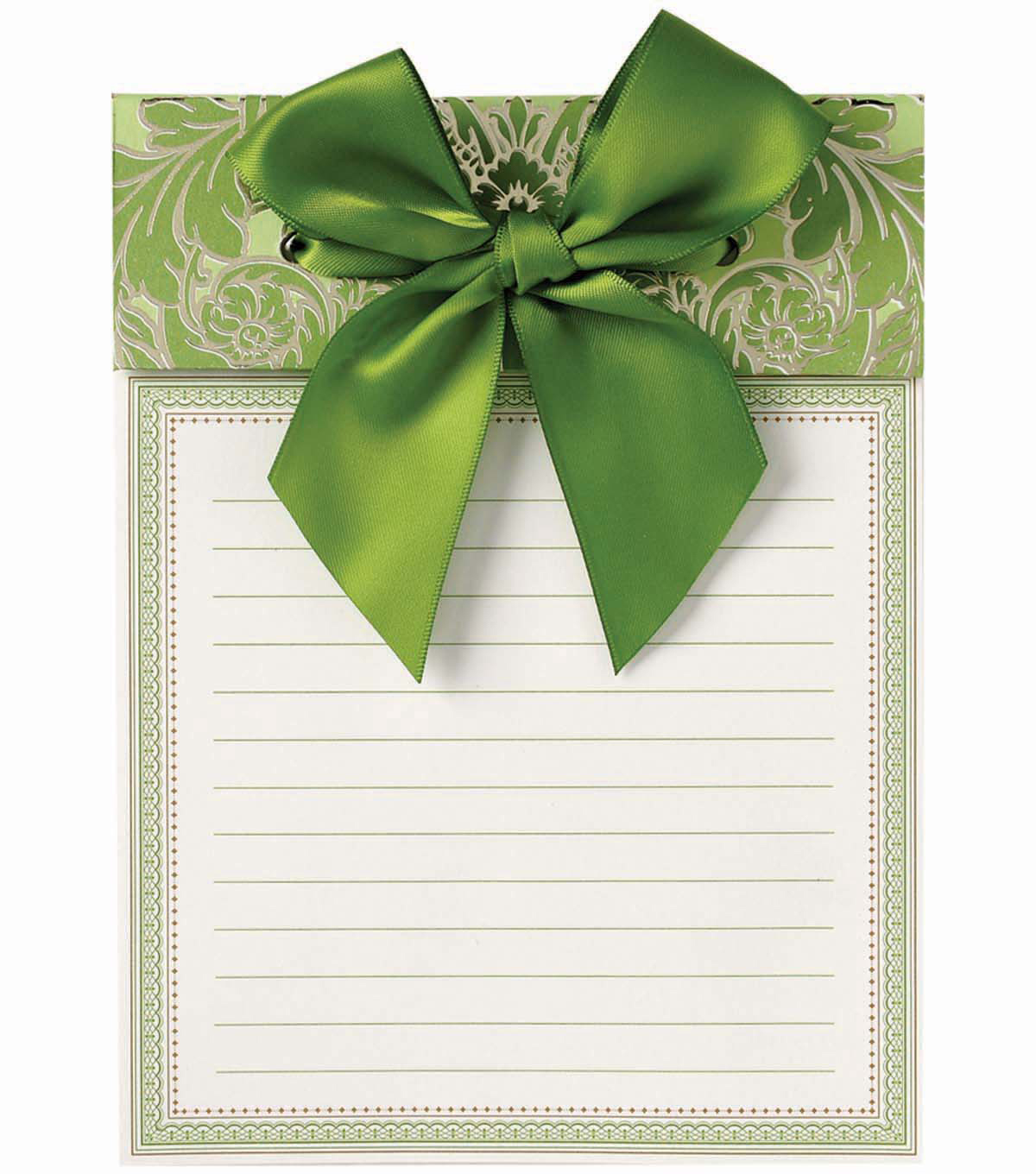 Anna Griffin Green Note Pad