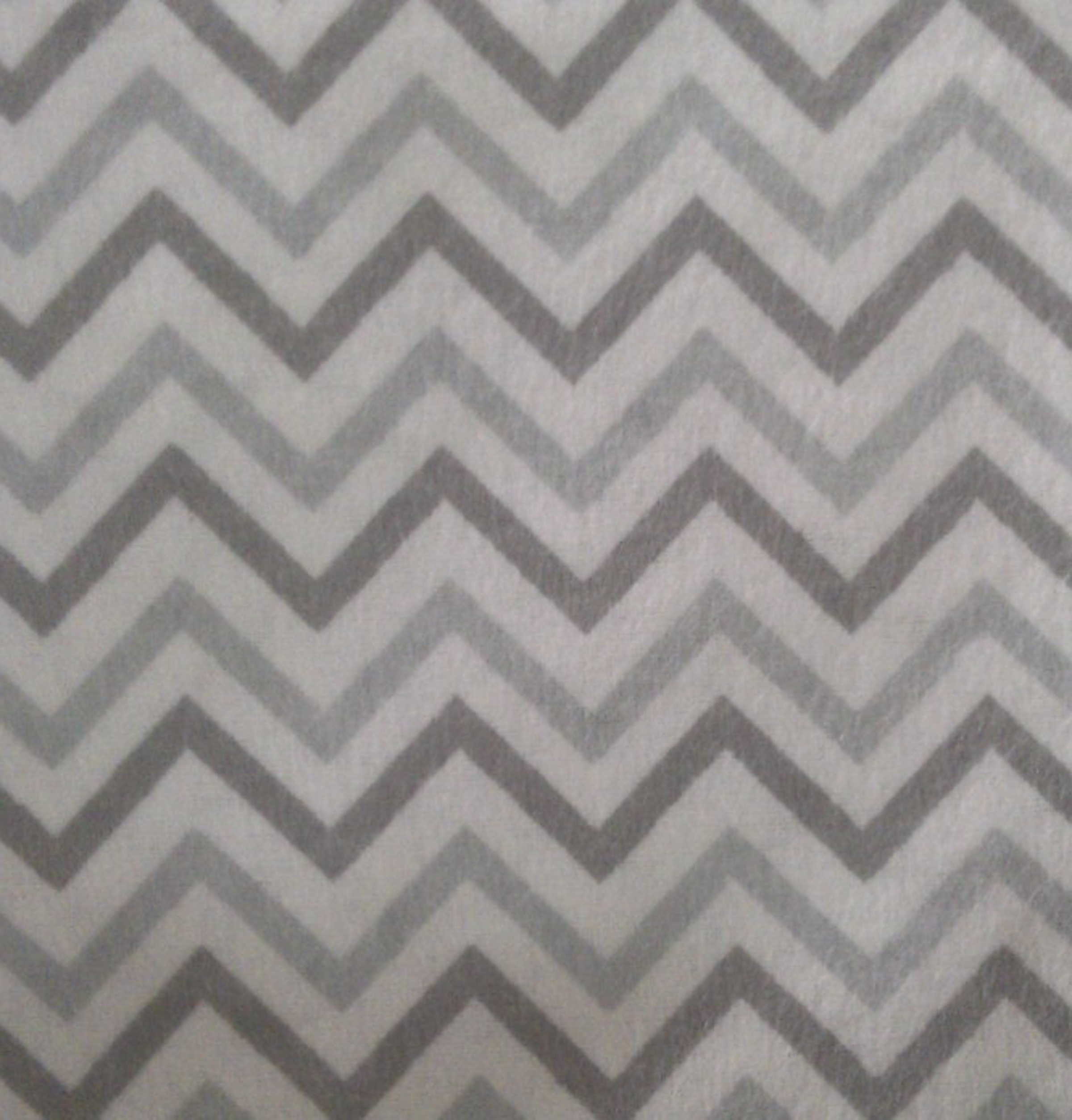Snuggle Flannel Fabric 42\u0027\u0027-Gray Chevron
