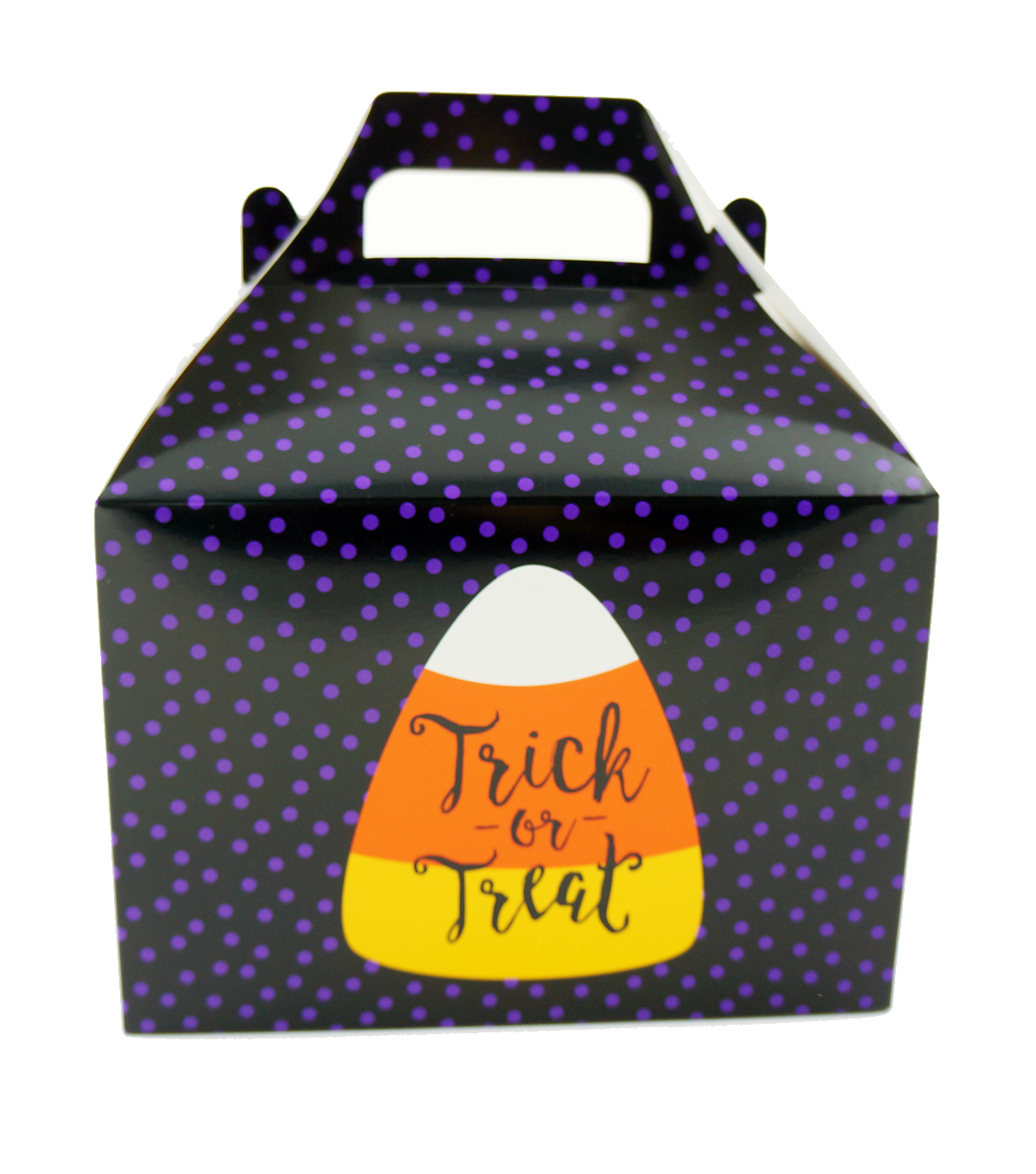 Cheer & Co. Halloween 2 pk Small Gable Boxes with Window-Trick or Treat