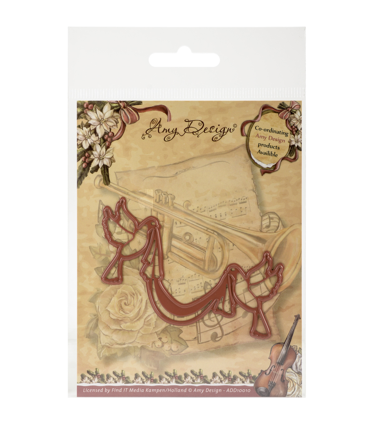 Amy Design Find It Trading Christmas Die-Doves With Sash